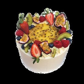 Full Coverage style Pavlova cake
