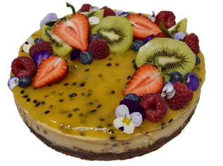 vegan passionfruit curd cheescake LARGE.