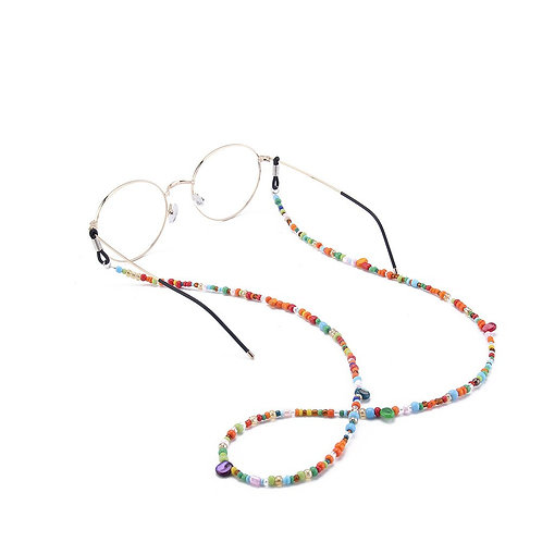 Colorful Beads Beaded Eyeglass Chains