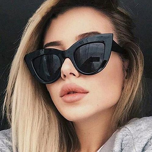 Women Cat Eye Sunglasses Retro   UV400