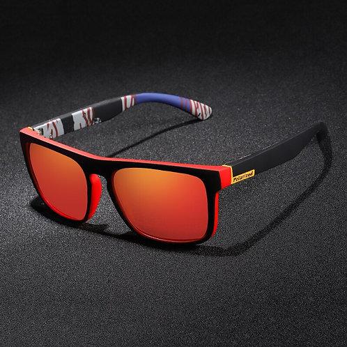 Unisex Square Vintage   Polarized Sunglasses Retro