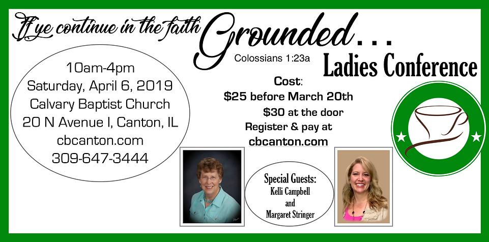 2019 Ladies Conference