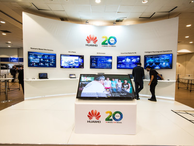 Evento Fluhicon - Stand Huawei