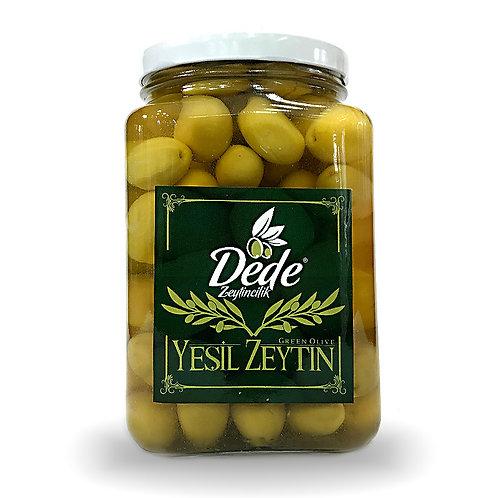 Domat Çizik Yeşil Zeytin (Cam Kavanoz) 1kg