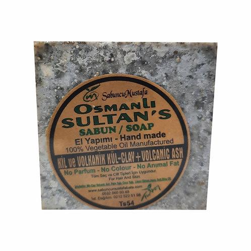 Osmanlı Sultans Kil ve Volkanik Kül Sabunu