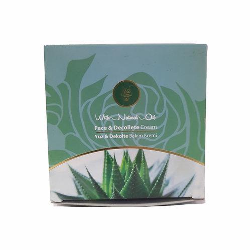 Harems Aloe Vera & Panthenol Yüz Ve Dekolte Kremi 125Ml