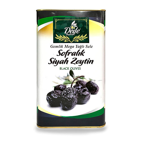 Gemlik Sofralık MEGA Siyah Zeytin 5kg
