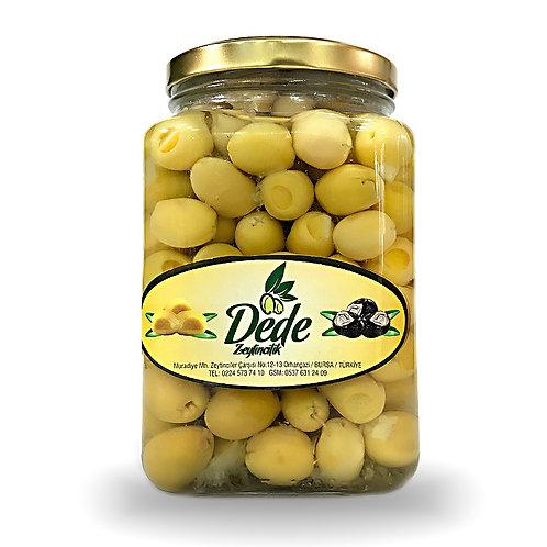 Limonlu Yeşil Zeytin (Cam Kavanoz) 1kg