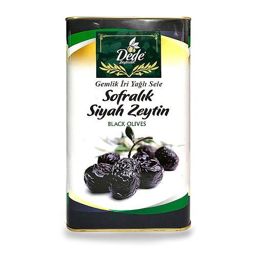 Gemlik Sofralık Siyah Zeytin (İri) 5kg