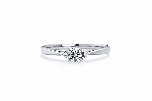 Trio - Silver 925 couple ring