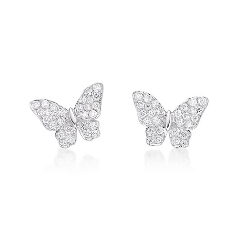 White Fairy – Diamond Earrings