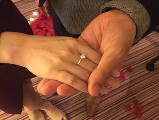 💖恭喜哂我地既客人Mr. B求婚成功!💖