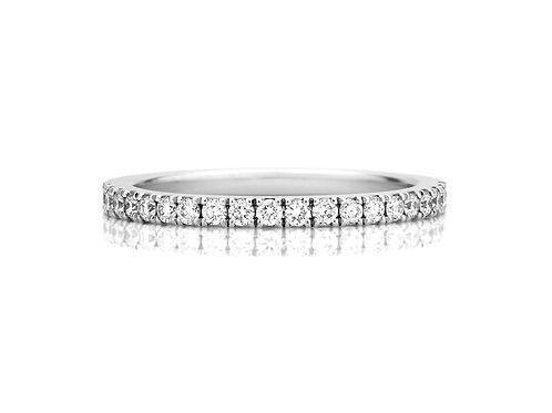 18k WG 鑽石戒指