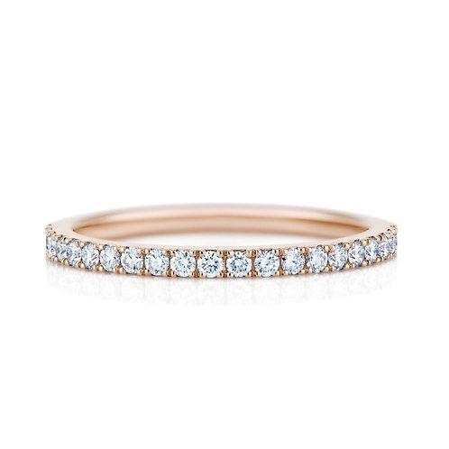 18k RG 鑽石戒指