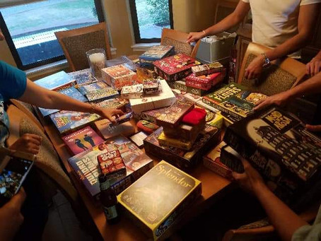 Speed dating: Friday Board Game Night