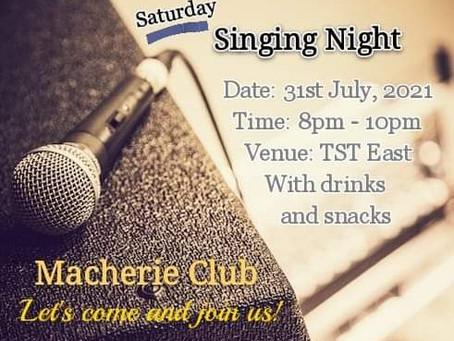 Macherie Club【活動推介】香港至貼心Speed Dating 配對公司 【Singing night】