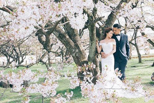 幸福宣言-日本四季景緻婚紗相