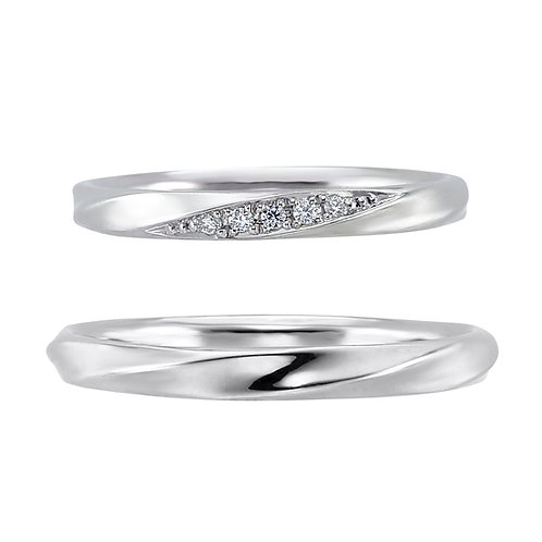 Emse-Silver 925 Couple Ring