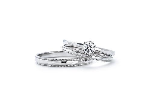 1122夫婦夫婦日本鉑金婚戒IFE002 |いい夫婦 ブライダル - 1122 iifuufu bridal