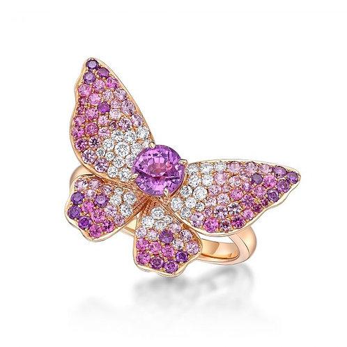 Pink Fairy – Purple Sapphire Ring