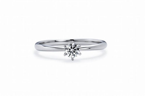 Josephine - Silver 925 couple ring