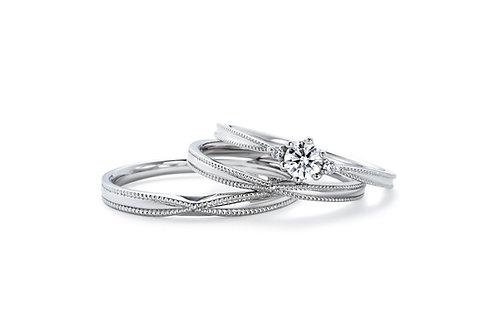 エンゲージリングIFE009 |いい夫婦 ブライダル - 1122 iifuufu bridal