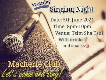 Speed dating: It's Macherie Club Singing Night again!🎤