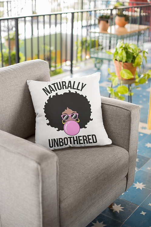 Naturally Unbothered Pillow