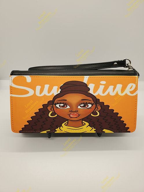 Sunshine Natural Queen Clutch Wallet