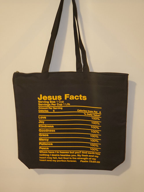 Jesus Facts Tote