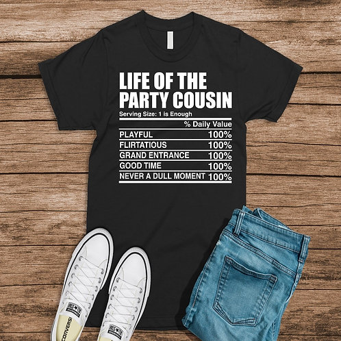 The Life of the Party Cousin