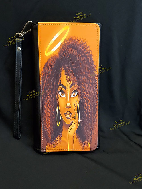Angel  Queen Clutch Wallet