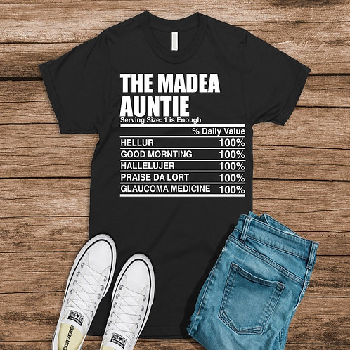 The Madea Auntie