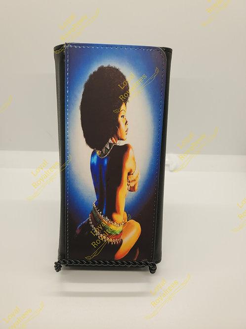 Afro Queen Clutch Wallet