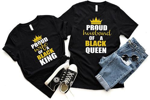 Proud Wife and Husband Couple Shirt