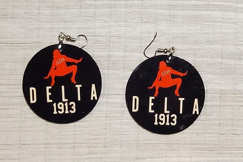 Round Delta 1913 Earrings