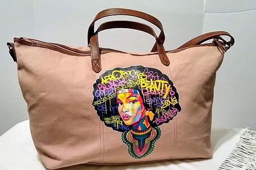 Afro Beauty Weekend Bag