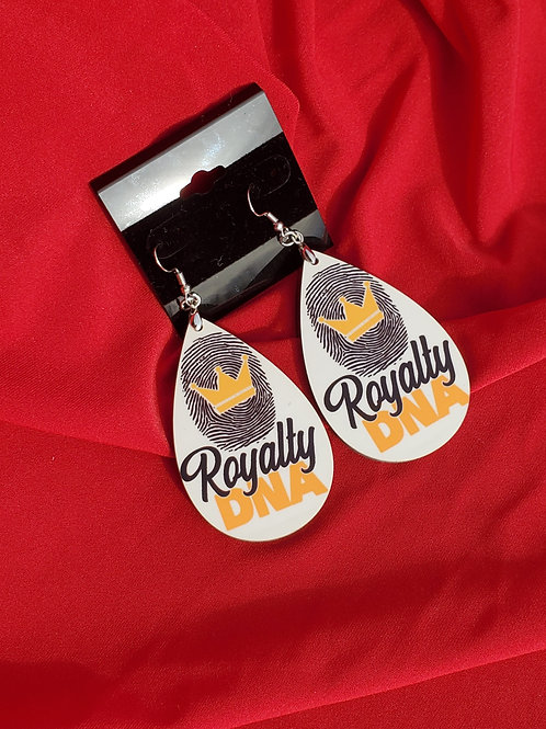 Royalty DNA Earrings