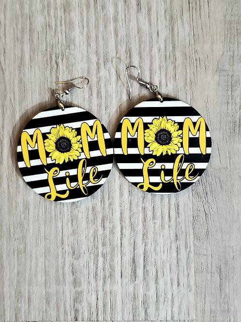 Sunflower 🌻 Mom Life  Earrings