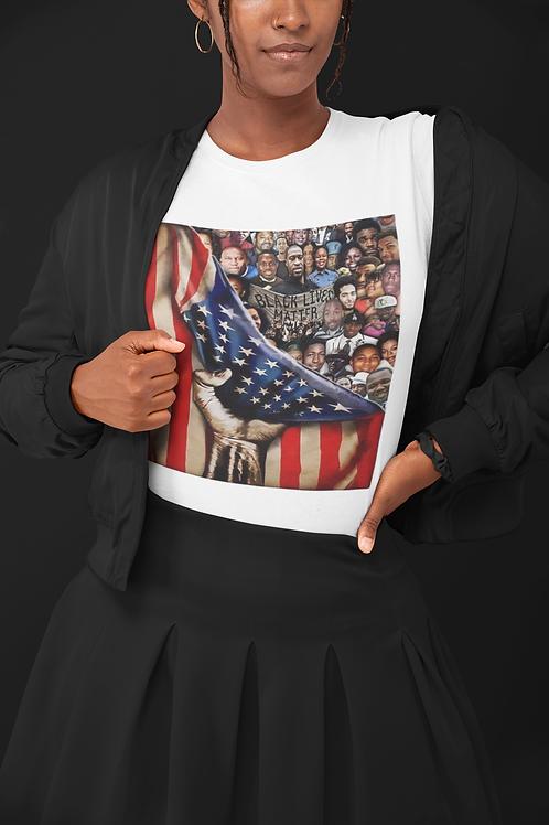 Black Lives Matter Fallen Flag