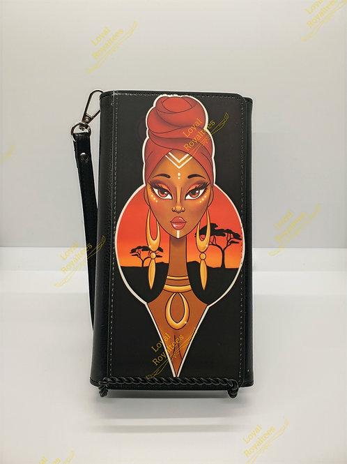 African Queen Clutch Wallet