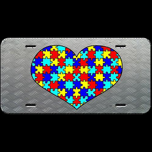 Autism License Plate-2