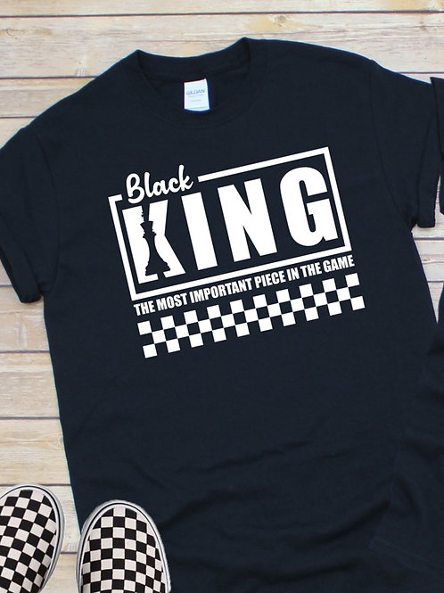 Black King The Most Important Piece