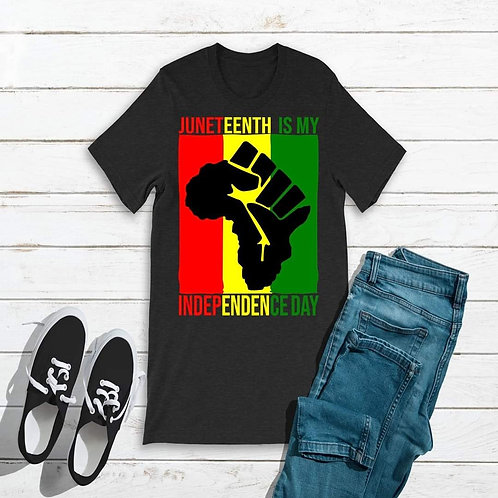 Juneteenth Fist is My Independence Day