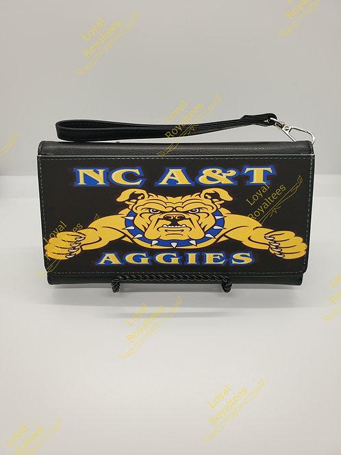 NC A&T Aggies Wallet