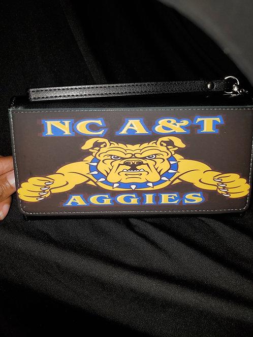 NC A & T Aggies Wallet