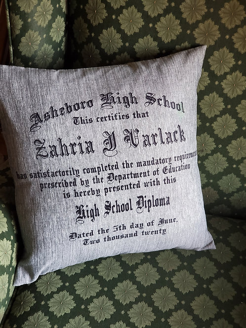 Graduation Pillow