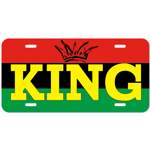 King License Plate