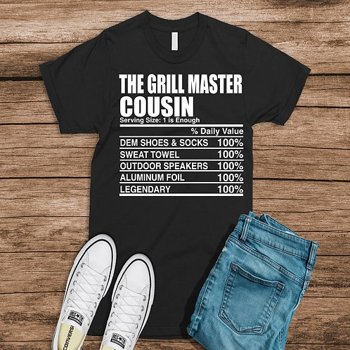 The Grill Master Cousin
