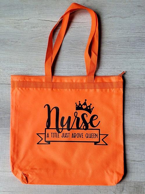 Nurse A Title Just Above Queen